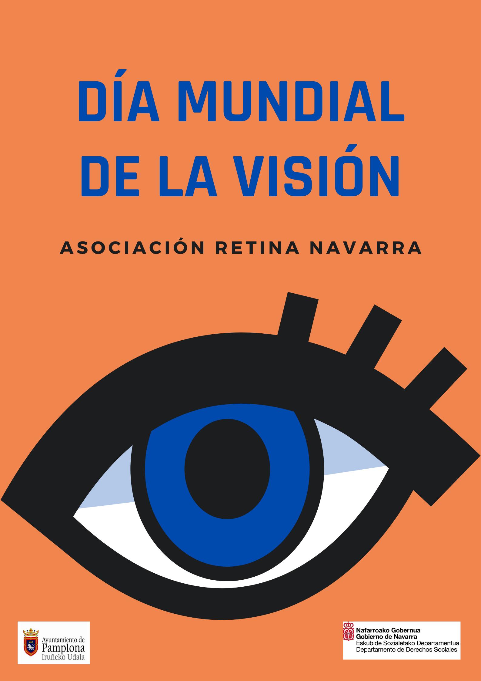 Imagen del cartel diseñado por Retina Navarra con motivo del Día Mundial